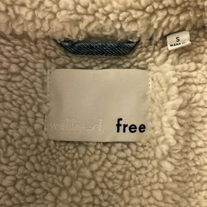 Denim Fury Jacket - Wilfred Free by Aritzia